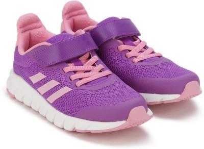 ADIDAS Boys & Girls Lace Running Shoes(Purple)