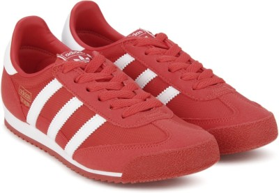Adidas Originals Boys & Girls Lace Casual Boots(Red) at flipkart