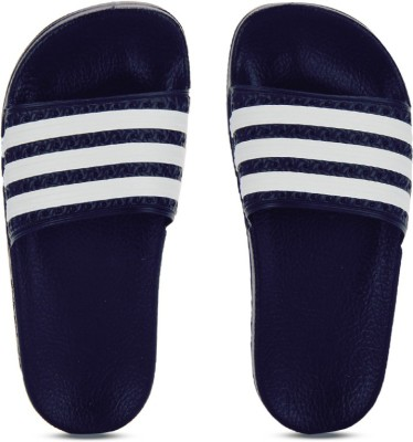 Adidas Originals Boys & Girls Slip On Slipper Flip Flop(Blue) at flipkart