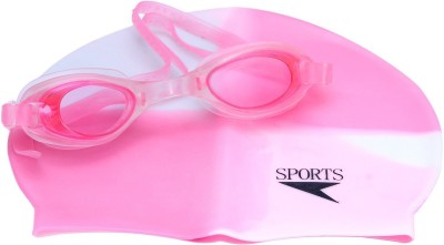 TG ADA1 Swimming Cap Pink, Pack of 1