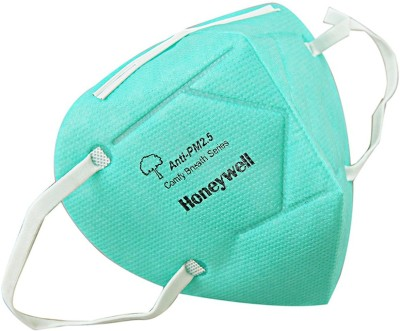 Honeywell Foldable Anti Pollution Pack of 10, D7002 Green Mask and Respirator