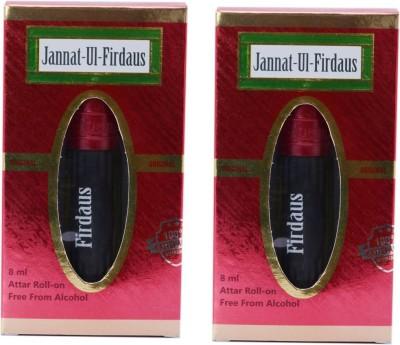 Al Nuaim Jannat ul Firdous (Pack of 2) Floral Attar(Jannat ul Firdaus)
