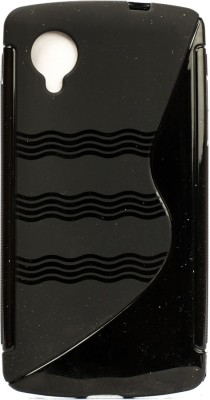 The Little Shop Back Cover for LG Google Nexus 5 E980(Black, Shock Proof, Rubber)