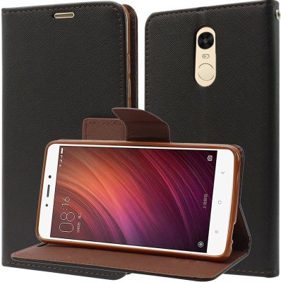 YOCOLOURS Back Cover for Mi Redmi Note 4(Red, Plastic)