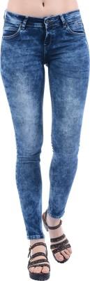F Fashionstylus Fashion Stylus Dark Blue Slim fit Women