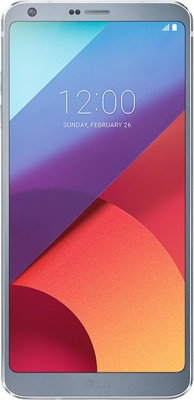 LG G6 (Ice Platinum, 64 GB)(4...