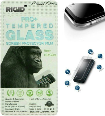 RIGID Tempered Glass Guard for MICROMAX A100(Pack of 1)