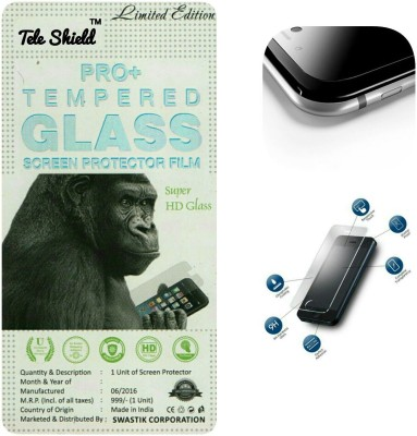 TELESHIELD Tempered Glass Guard for MICROMAX BOLT A069(Pack of 1)