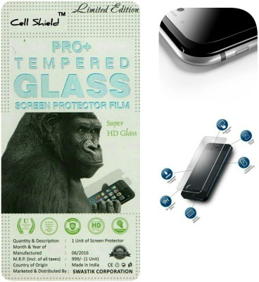CELLSHIELD Tempered Glass Guard for MICROMAX CANVAS 2 A110(Pack of 1)