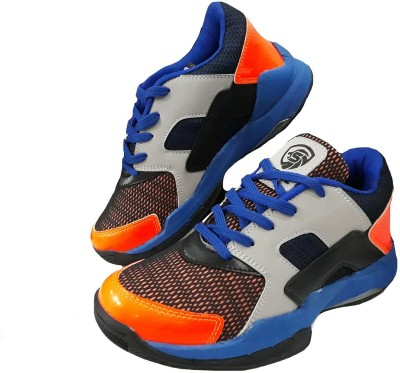 Port Court Basketball Shoes For Men(Multicolor)