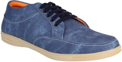 Aarnato Sneakers For Men(Blue) at flipkart