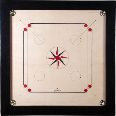 OSEL OSEL Carrom Board Club 8mm 32 inch Carrom Board(Multicolor)