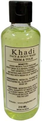 khadi Neem Tulsi Body Wash 210 ml