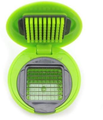 Global Gifts Garlic Vegetable Dicer Slicer Chopper(Steel) at flipkart