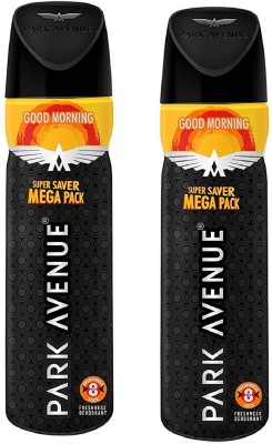 Park Avenue Classic Deo Mega Pack, Good Morning (Pack of 2) Deodorant Spray  -  For Men(220 ml, Pack of 2)  available at flipkart for Rs.430