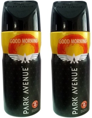 Park Avenue Classic Deo Good Morning (Pack of 2) Deodorant Spray  -  For Men(100 ml, Pack of 2)  available at flipkart for Rs.368