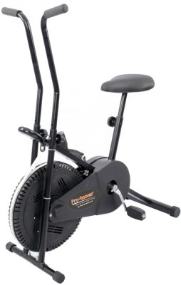 protoner 102 with cooling fan wheel & Digital Display Indoor Cycles Exercise Bike(Black)