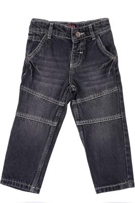 Addyvero Skinny Baby Girls Black Jeans