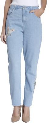 Vero Moda Regular Women Blue Jeans at flipkart