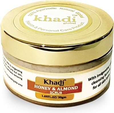 Khadi Global Honey & Almond Scrub - 50ml