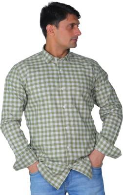 LeebaZone Men Checkered Casual Multicolor Shirt