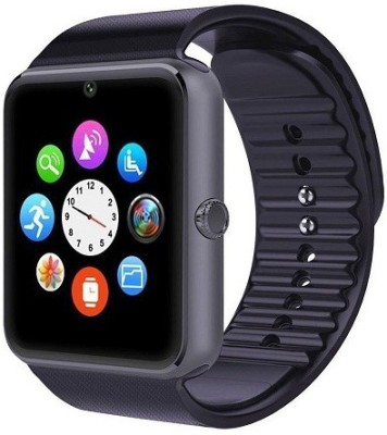 Maya 007 plus GT08 Bluetooth NFC Cell Phone - Charcoal Grey Smartwatch(Black Strap Regular) at flipkart