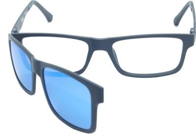 d7a22d048e10 FIZAN FZ-1018-C1 Medium 54mm Magnetic Attachment of Frame   Mirror  Sunglasses Rectangular