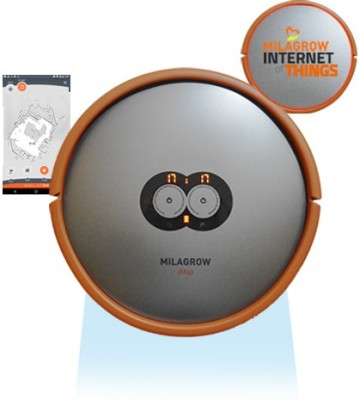 Milagrow iMap Water Robotic Floor Cleaner(Grey and Orange)  available at flipkart for Rs.61990