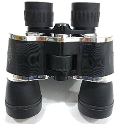 Protos Xpedition Xperts 10X 50mm Long Range Wide Angle Binoculars(50 mm, Black)