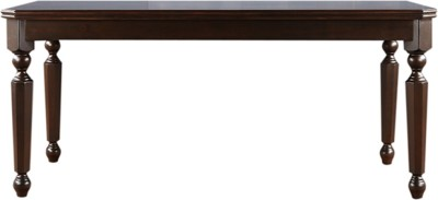 HomeTown Callisto Solid Wood 6 Seater Dining Table(Finish Color - Brown)