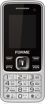 Forme N9+ Selfie Camera , Wireless FM, Dual SIM (Black) Moile Phone(Black)