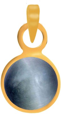 PTM Certified Coral (Moonga)Gemstone 10.25 Ratti or 9.44 Carat for Male Panchdhatu 22K Gold Plated Alloy Pendant