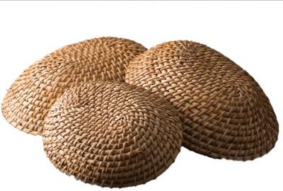 Craftedindia 5 SET Handmade Bamboo Storage Basket Tray Set(Pack of 5) at flipkart