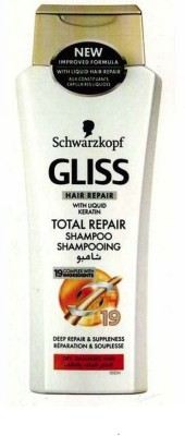 Schwarzkopf Gliss Hair Repair With Liquid Keratin Total Repair Shampoo(250 ml) Flipkart