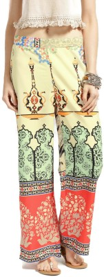 Anouk Regular Fit Women Multicolor Trousers at flipkart