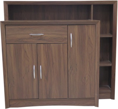 Eros Legit Engineered Wood Free Standing Cabinet(Finish Color - Wenge)
