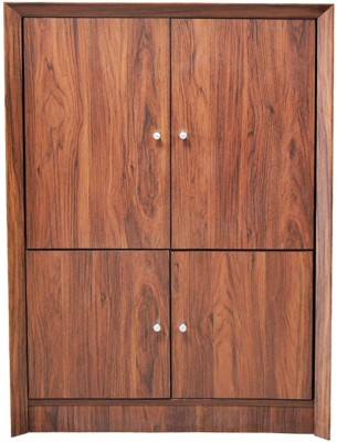 Eros Bergere Engineered Wood Free Standing Cabinet(Finish Color - Wenge)