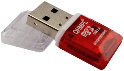 MEZIRE QHM5579 W-6 Card Reader(Red)