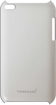 Fonokase Back Cover for Apple iPod Touch 4(White)