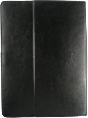 Emartbuy Wallet Case Cover for Dell Venue 8 7000(Black Carbon)