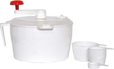 Tangerine Plastic Size Batch Dough Maker at flipkart
