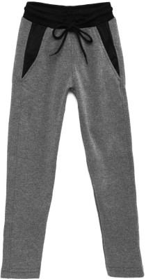 YK Track Pant For Girls(Grey Pack of 1) at flipkart