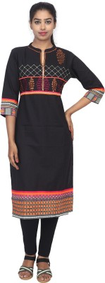 chapter21 Casual Printed Women Kurti Multicolor