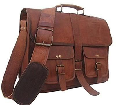 CraftShades 15.6 inch Expandable Laptop Case Tan CraftShades Laptop Bags