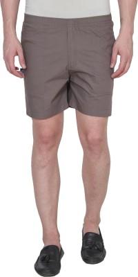 Active Basic Solid Men White Boxer Shorts