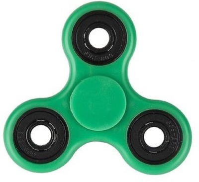 vox Fidget Spinner with Ceramic Bearing, Tri hand Spin, Anti Stress Toy, Useful for ADHD, Autism, Spins upto 1-3 minutes - Green(Green)  available at flipkart for Rs.110