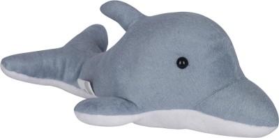 Ultra Cute Grey Dolphin   12 inch Grey Ultra Soft Toys