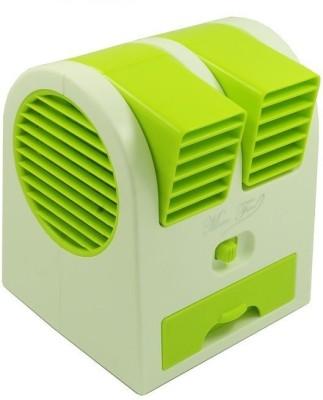 Cierie Mini portable   Rechargable ZX 26 USB Fan Green Cierie Mobile Accessories