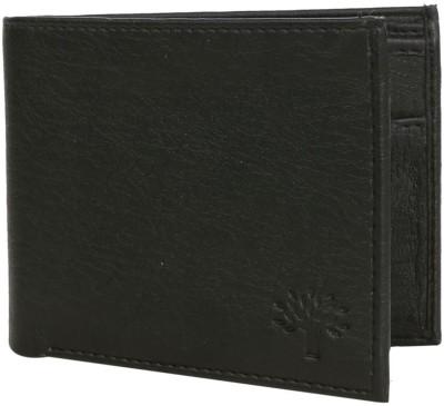 Batman Men Black Artificial Leather Wallet(5 Card Slots)