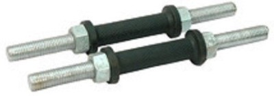 HOMMER Ultimate Dumbbell Rods Pair Weight Lifting Bar Silver HOMMER Bars